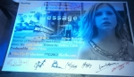 Signed by the cast of Text Message