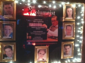 Shadow Box with the cast upon entering the theatre