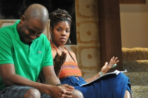 Christopher Wynn as Kevin and Tyla Abercrumbie as Lena. Photo by Barbara Banks. (2).jpg