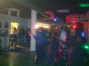Get Out the Vote Jam with David Smash and his band at HuB.