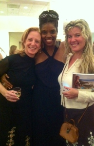 As I take a photo of Actress Tyla Abercrumbie with Jenna Norwood, Actress Sarah Brown jumps in to add her vibrant smile.