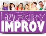 Lazy Fairy Improv Logo