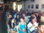 Part of the audience at HuB for Lazy Fairy.