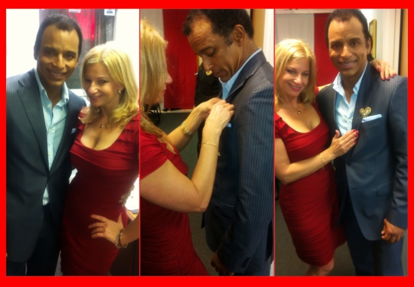 I left my heart with Jon Secada (our post concert interview).