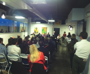 Well attended candidate forum