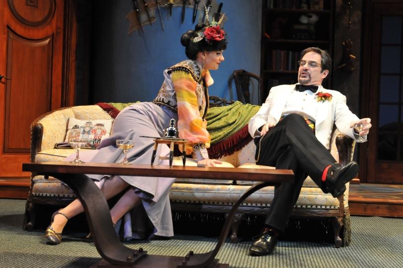 Gail Rastorfer and Eric Hissom. Photo by Barbara Banks.