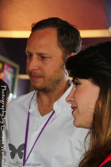 Producers Sarah Baker and James Reed.