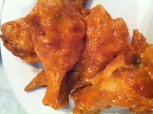 Delicious chicken wings with special recipe!