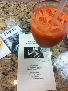 Fresh juices: Carrott, Celery, Ginger - My favorite..