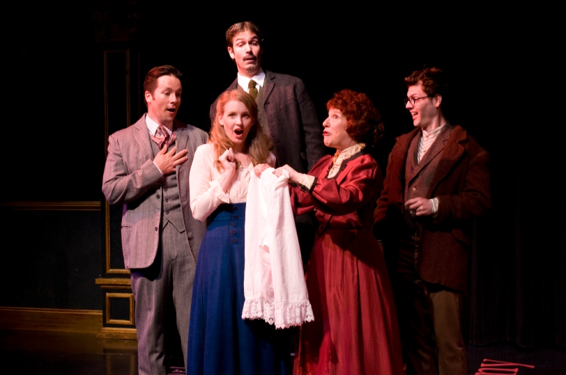 Cast of The Underpants (photo by Maria Lyle)