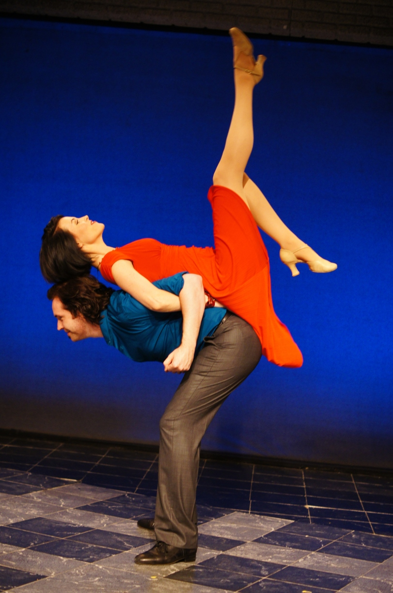 Peter Gosik and Lauren Blackman (Photo by Brian Braun)