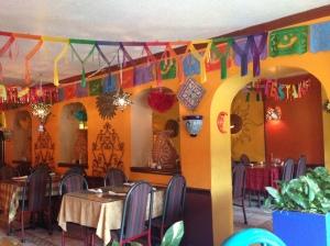 Interior Azteca Mexican Restaurant