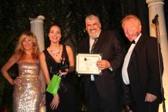 Susan Short, Sofya Skya, Naz Tliachev, Alan Bailey at MIFF 2012.