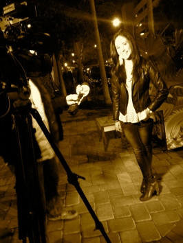 Danielle Furst interviewed by ABC 7's Martin Price.
