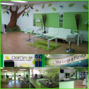 Clean Smoke electronic cigarette and e-liquids locations, Sarasota, Bradenton, Brandon,